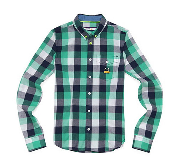 PPOFPLS02U POPEYES BUTTONDOWN CHECK SHIRTS (FP) (2 COLORS)
