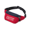 CTOSPBG02U STRIPE LOGO WAIST BAG  (Red)