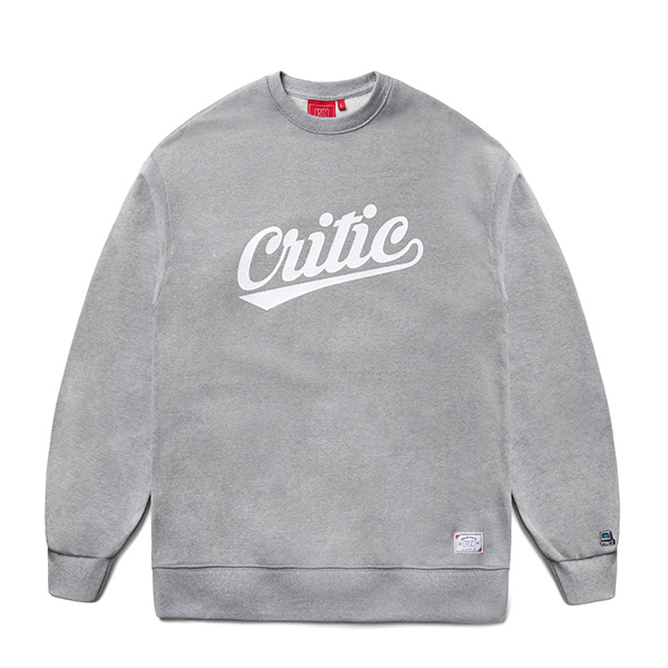 CTOSPCR07UC4  TEAM LOGO SWEAT SHIRT (GREY)