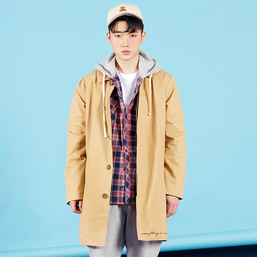 PLAYMONSTER PM-COTTON SINGLE COAT 160202-02_BEIGE