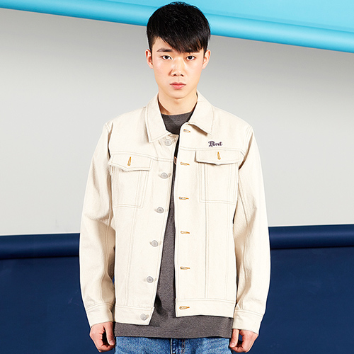 PLAYMONSTER PM-VINTAGE TRUCKER JKT160202-04_BEIGE