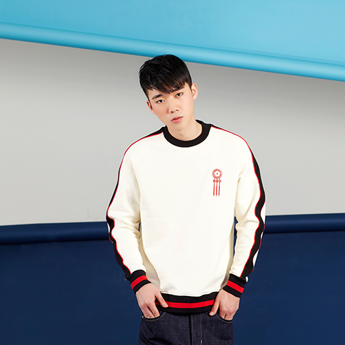 PLAYMONSTER PM-SOUVENIR SWEAT SHIRT 160202-15_IVORY