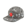 CTOFUHW10U CAROUSEL PATTERN CAMP CAP SNAPBACK ( 2 colors)