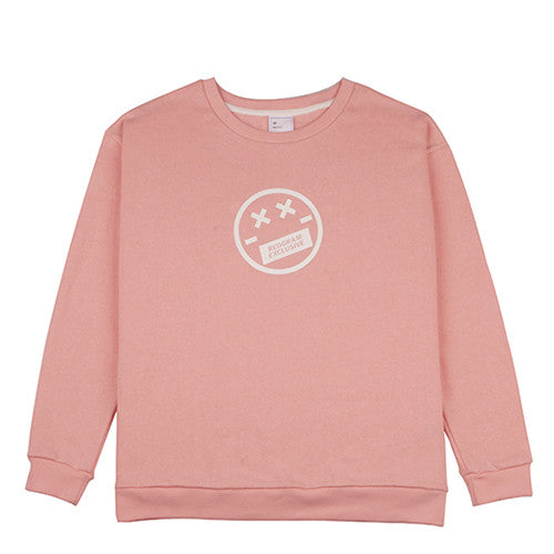 REOGRAM EXCLUSIVE SEMI OVERSIZED SWEATSHIRTS (Peach)