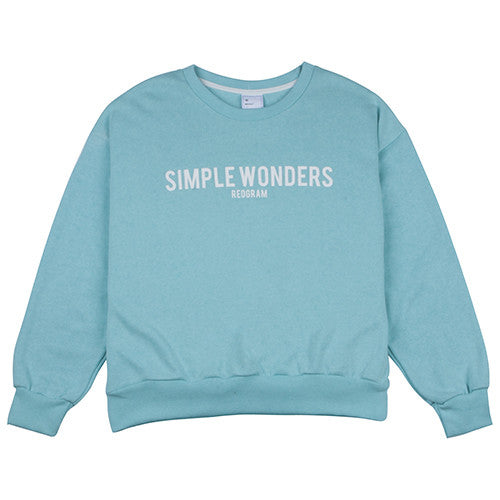 REOGRAM SIMPLE WONDERS OVERSIZE SWEATSHIRTS (4 COLORS)