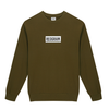 REOGRAM - BOX LOGO SWEATSHIRTS (Khaki)
