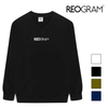 REOGRAM OG V-NECK SWEATSHIRTS (Black)