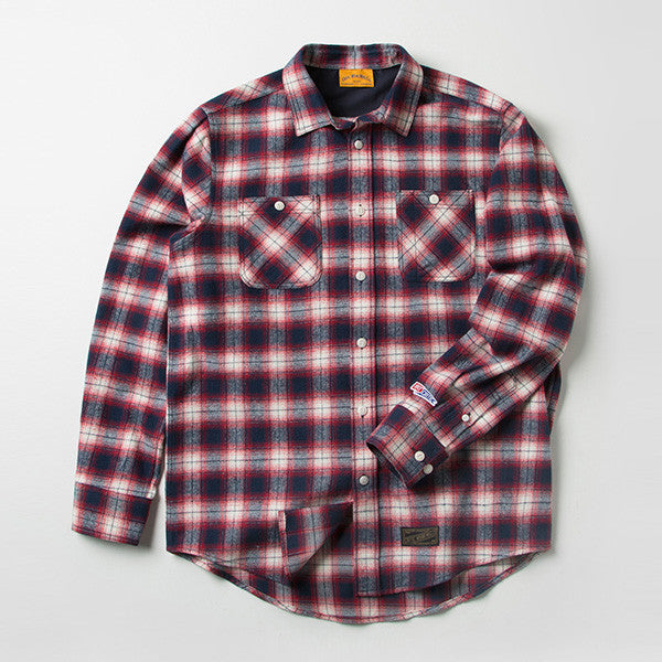 CRITIC CHECK SHIRTS (RED) CMOSILS01MR0