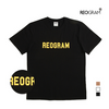 REOGRAM OG CRACK T-SHIRTS(Black)