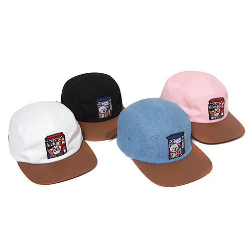 Beyond Closet BC MARKET LEATHER CAMP CAP ( 4 COLORS)