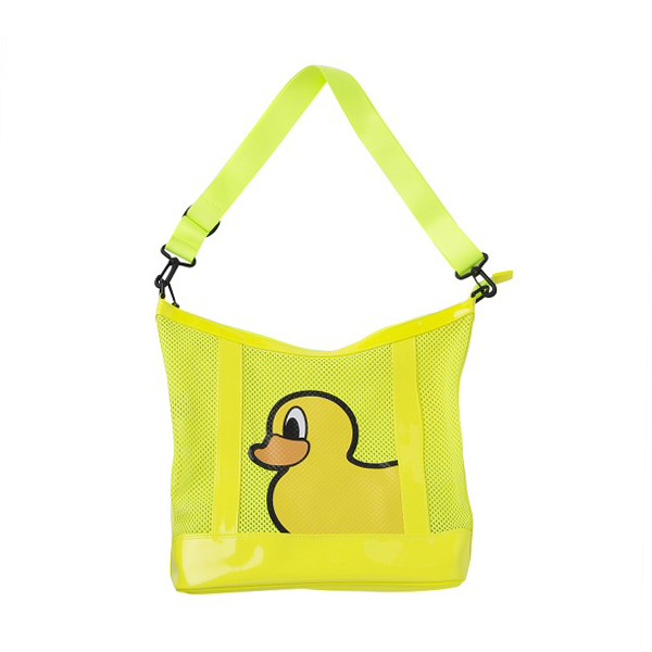 PANCOAT PPOFEBG20UL0 POPDUCK MESH HOBO BAG (FE) (PSYCHE LIME)