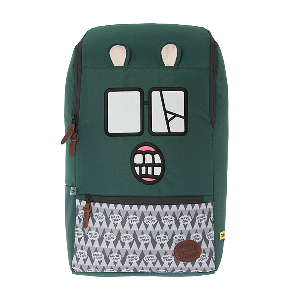 MAJO ZOMBIE SQUARE BAG (GREEN) MSOHIBG09UGR