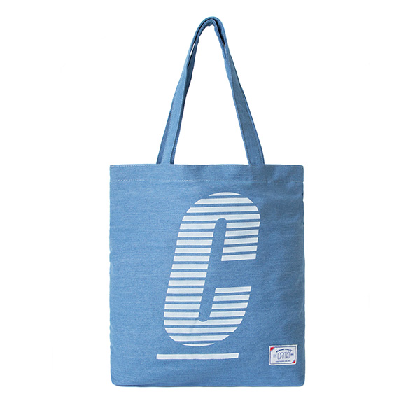 CRITIC CTOSPBG03U STRIPE LOGO TOTE BAG