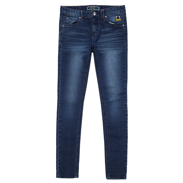 PPOHPDP03WB7 POPEYES SKINNY FIT DENIM PANTS (GRAND BLUE)