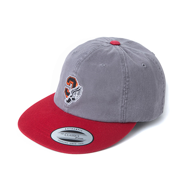 CRITIC C WING 6PANEL CAP (GREY) CTOIAHW03UGY