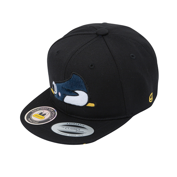 PKOFAHW01UC6 MULTI KIDS SNAPBACK CAP (FA) (MIDNIGHT BLACK)