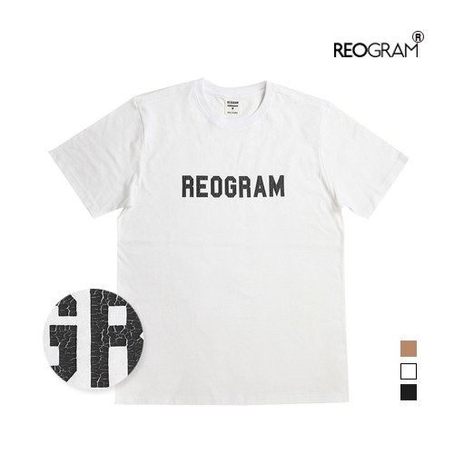 REOGRAM OG CRACK T-SHIRTS(White)