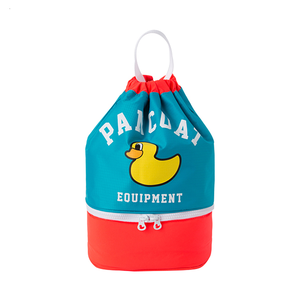 PKOIPBG61UG7  POPDUCK KIDS LIGHT DAILY BAG (IP) (URANUS GREEN)