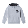 PKOIAHZ40UC4 POPBULLY KIDS SETUP HOODY ZIPPUP (IA) (HEATHER GREY)