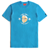 CTOHURS03U CHICKEN KILLER HEAD TEE (BLUE)