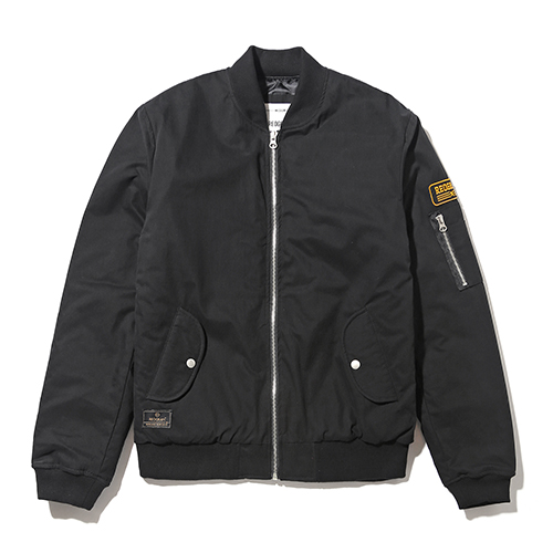 REOGRAM -  2015 BASIC MA-1 JACKET (BLACK)