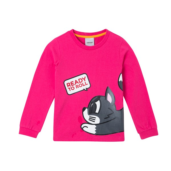 PKOIARL43UP5  BIG POPMU KIDS LONGSLEEVE (T-1/IA) (LUX PINK)