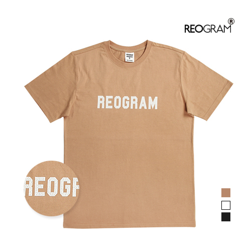 REOGRAM OG CRACK T-SHIRTS(Beige)