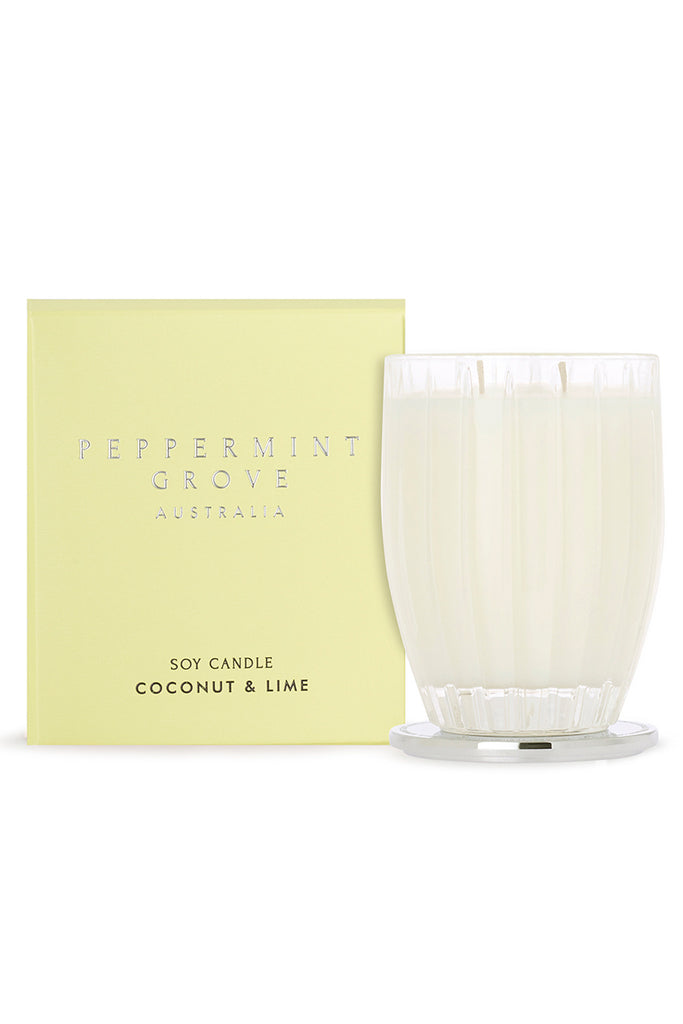 Coconut & Lime Candle - FRANKIE + COCO