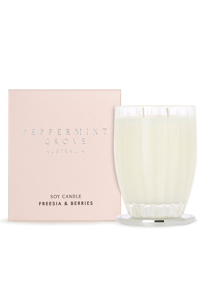 Freesia & Berries Candle - FRANKIE + COCO