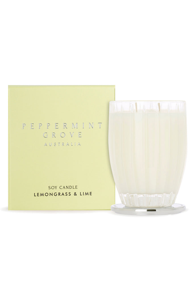 Lemongrass & Lime Candle - FRANKIE + COCO