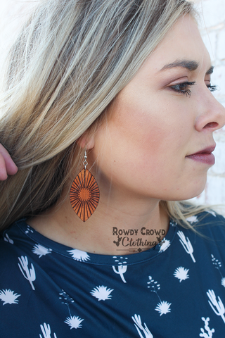 Sangria Sunrise Earrings