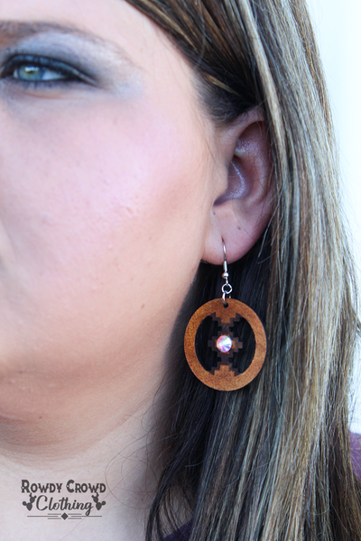 Ozzy Aztec Earrings