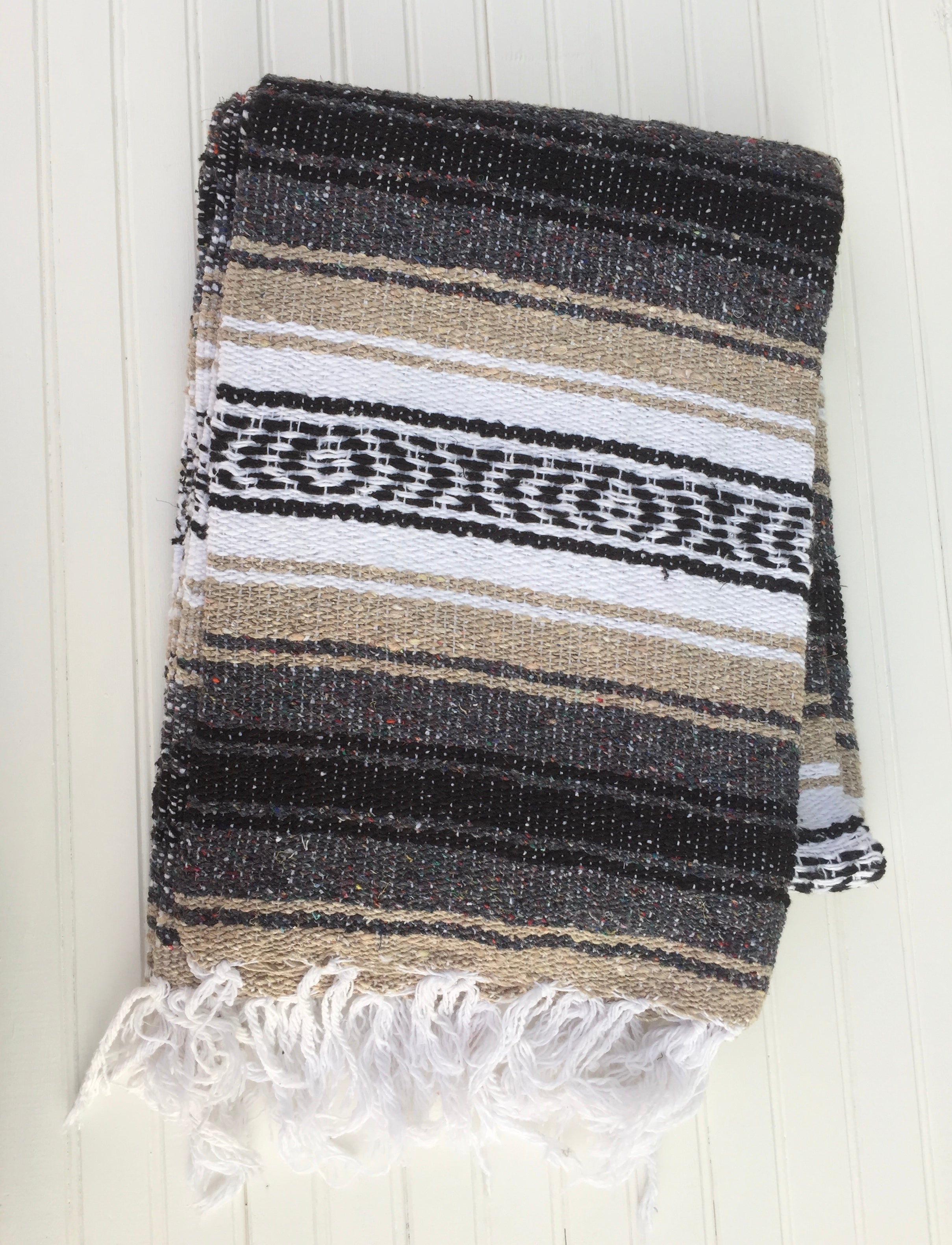 Tan Mexican Falsa Blanket