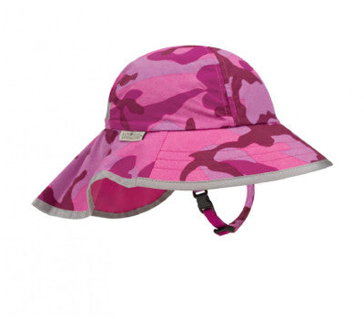 Sunday Afternoons Kid's Play Hat - Pink Camo