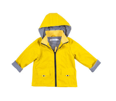 French Soda_ Unisex Yellow Coat
