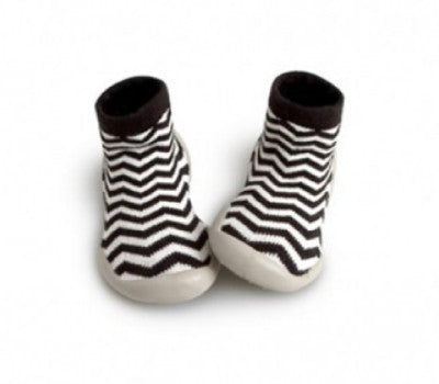 Collegien Slipper Socks Zigzag