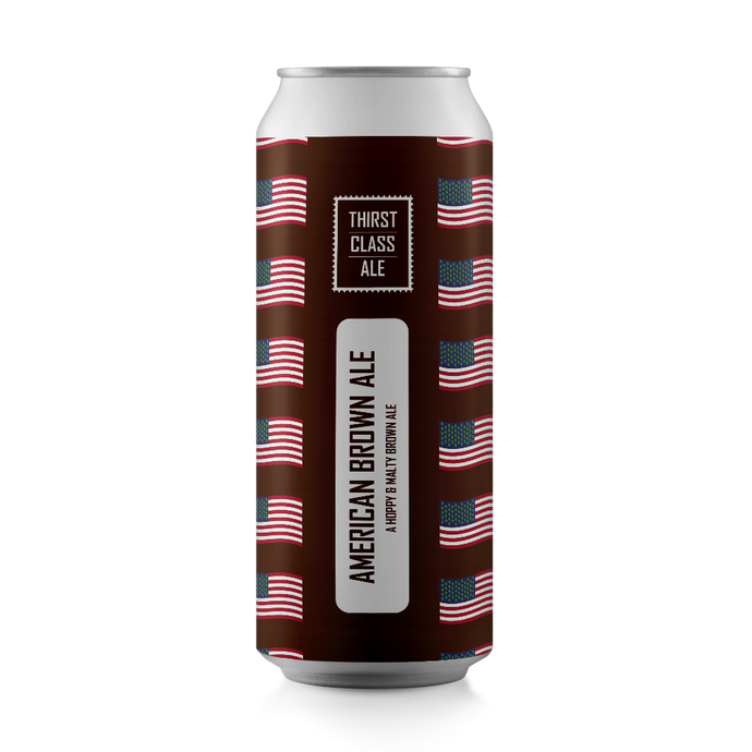 American Brown Ale 5.3% (12x440ml Cans)
