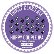 Hoppy Couple IPA (Centennial & Chinook) 6.8% (30L Keykeg)