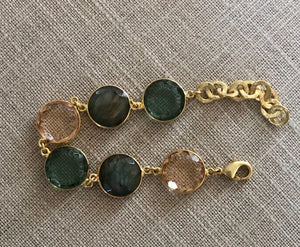 Gemstone Gold Bracelet