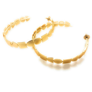 Geometric Over-sized Hoop Earrings