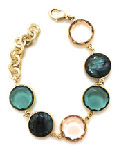Load image into Gallery viewer, Gemstone Link Bracelet