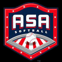 asa slowpitch softball stamp