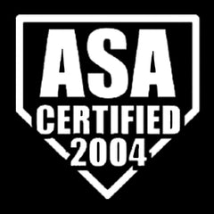 asa fastpitch softball stamp