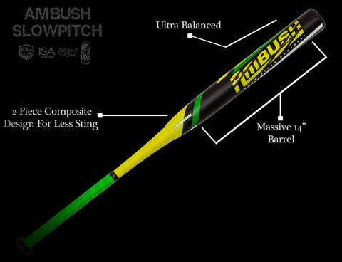2020 anderson bat ambush slowpitch softball bat