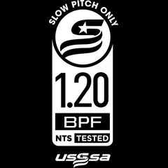new usssa slowpitch softball stamp