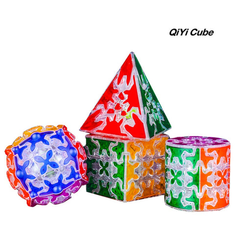 QiYi Transparent Gear Puzzle Series