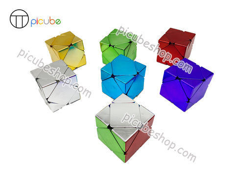 Picube Eclipse MeiLong Metal Skewb