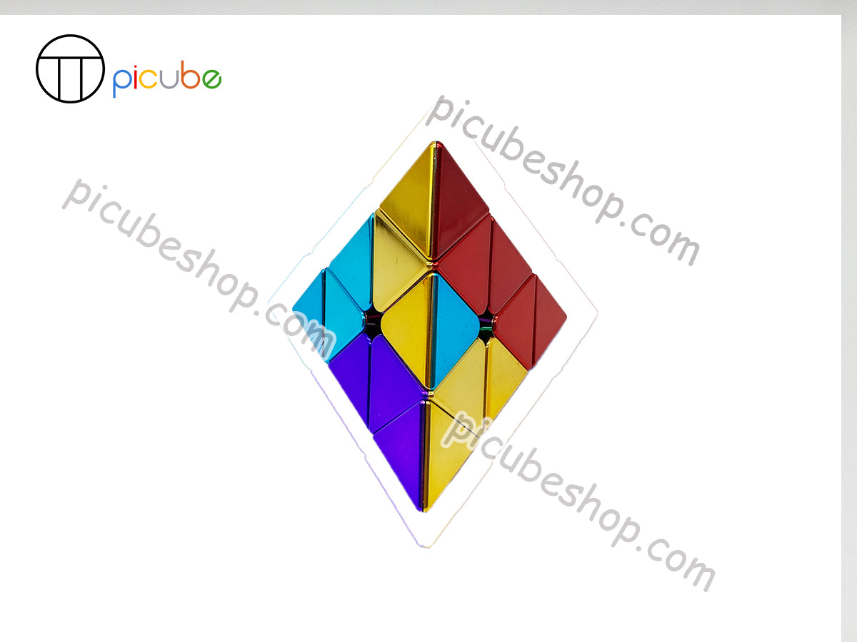 Picube Eclipse MeiLong Metal Pyraminx