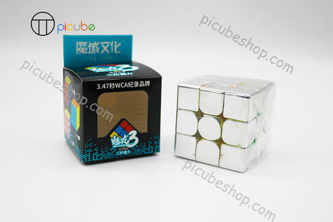 Picube Eclipse MeiLong 3x3 Metal Silver