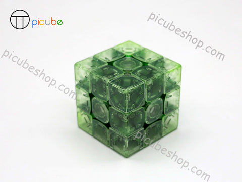 Picube Eclipse TengYun M Transparent Green 3x3